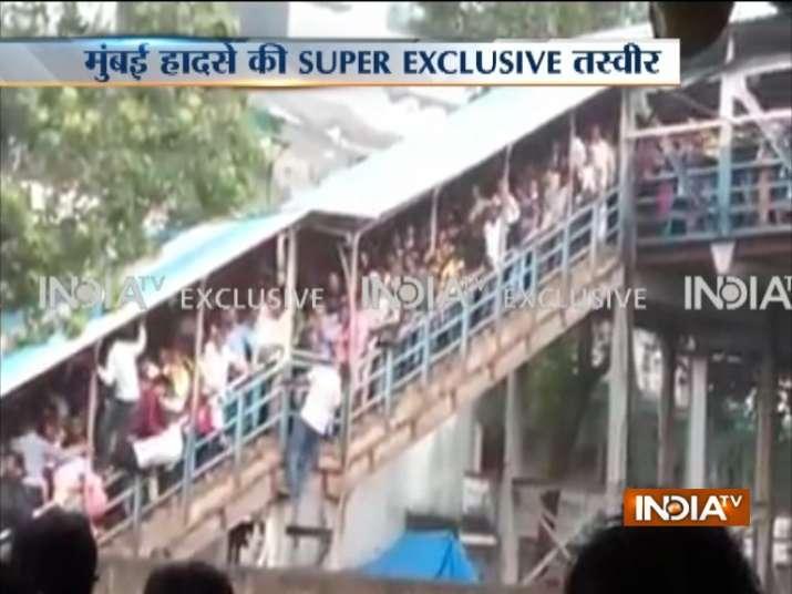Stampede at Elphinstone Road railway station- Khabar IndiaTV