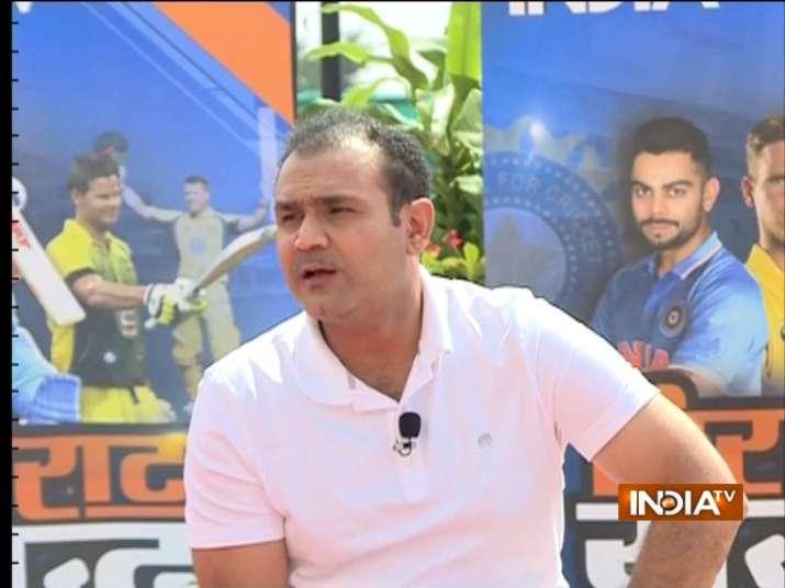 Virender Sehwag- Khabar IndiaTV