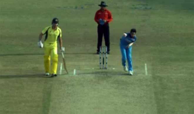 Bhuvneshwar's dead ball, 3rd odi- India TV