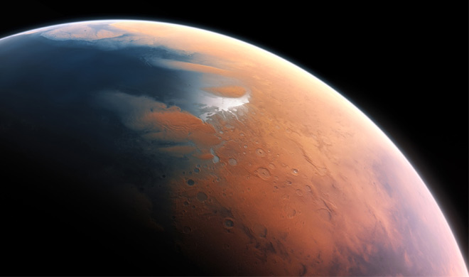 Ancient Mars was on the water revealed in the study- India TV