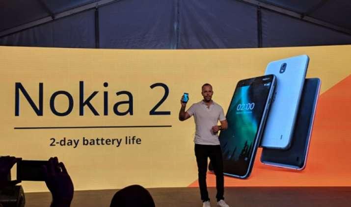 HMD Global ने भारत में लॉन्च किया 4100 mAh की बैटरी से लैस Nokia 2 स्मार्टफोन, कीमत है 7,500 रुपए- India TV Paisa