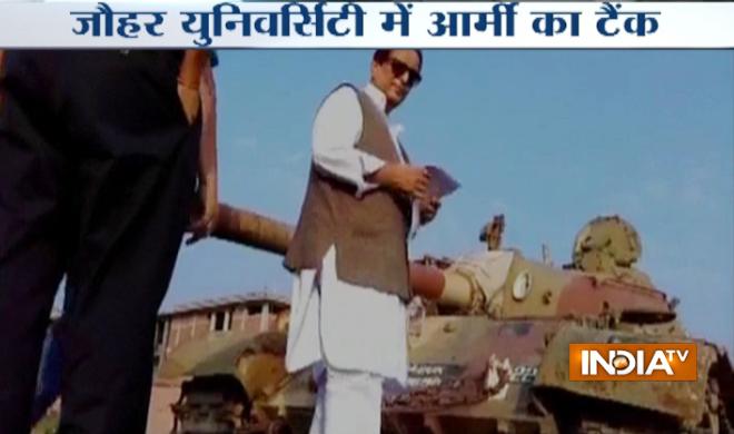 Azam-Khan-Tank- Khabar IndiaTV