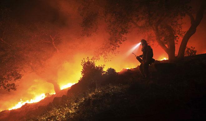 California wildfires | AP Photo- Khabar IndiaTV