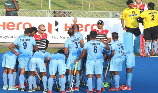 indian hockey team asia cup- Khabar IndiaTV