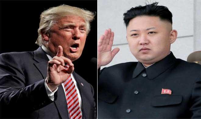Trump and jong- Khabar IndiaTV