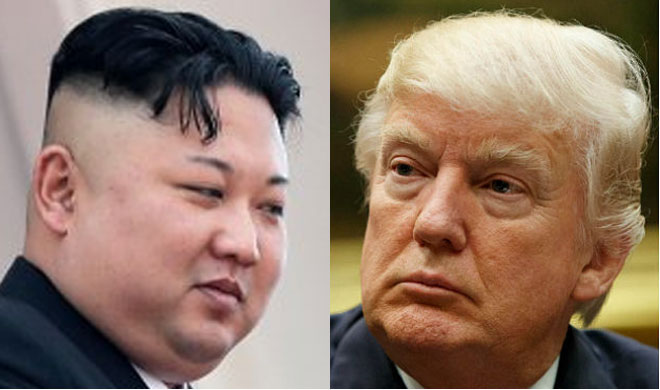 Kim Jong Un and Donald Trump | AP Photo- Khabar IndiaTV