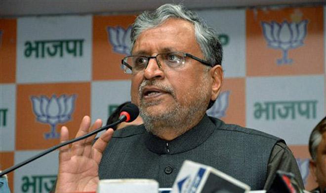 sushil Modi- India TV