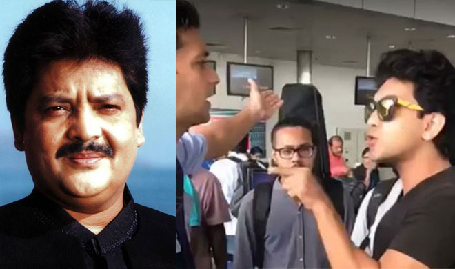 UDIT NARAYAN ADITYA NARAYAN INDIGO AIRLINE- India TV
