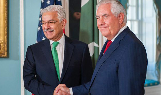 Discussion on several issues between Khwaja Asif and US...- India TV