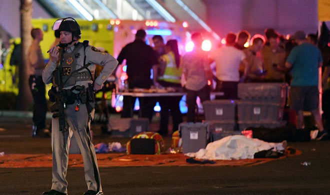 las Vegas attack arms recovered from the attacker house- India TV