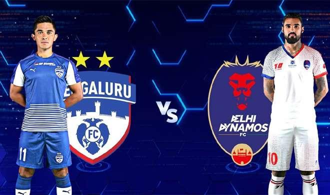Bengaluru FC vs Delhi Dynamos FC- Khabar IndiaTV