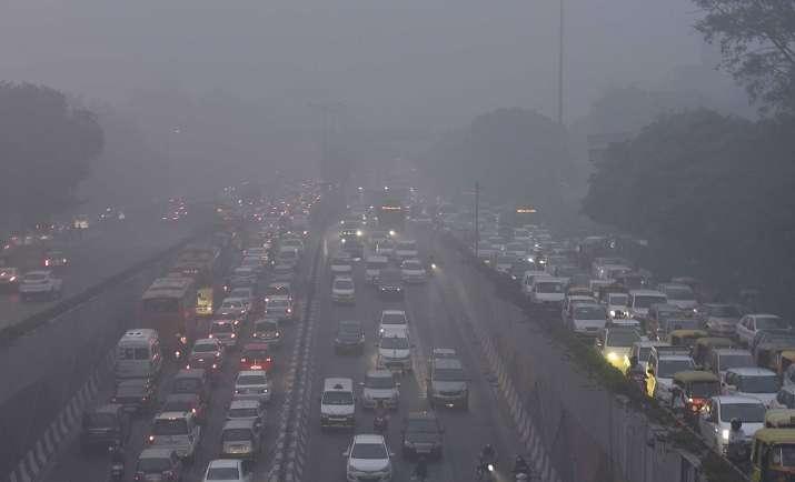 delhi-smog- Khabar IndiaTV