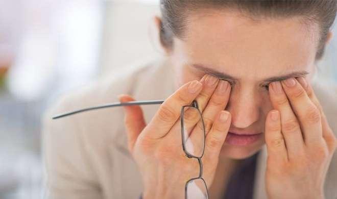 eye problem- Khabar IndiaTV