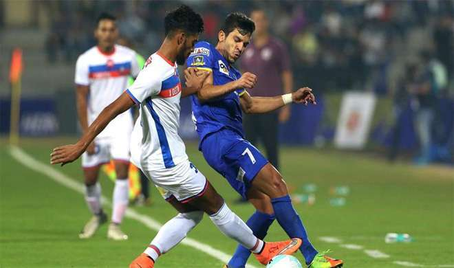 Mumbai City FC VS FC Goa- Khabar IndiaTV