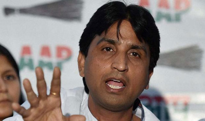 Kumar Vishwas   PTI Photo- Khabar IndiaTV