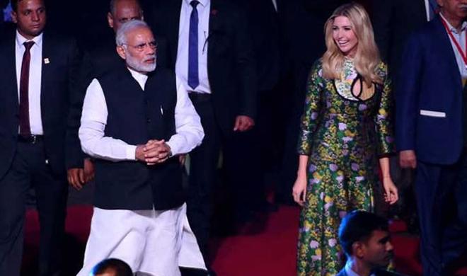modi-ivanka- Khabar IndiaTV