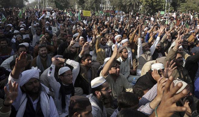 Pakistan Protests | AP Photo- Khabar IndiaTV