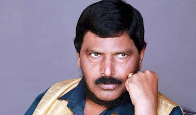 Ramdas Athawale | PTI Photo- Khabar IndiaTV
