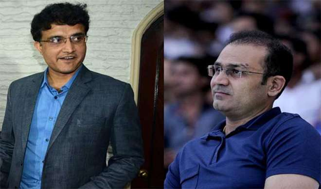 sehwag and ganguly- India TV