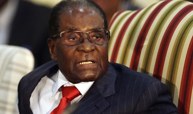 Robert Mugabe seemed relieved after signing resignation...- Khabar IndiaTV