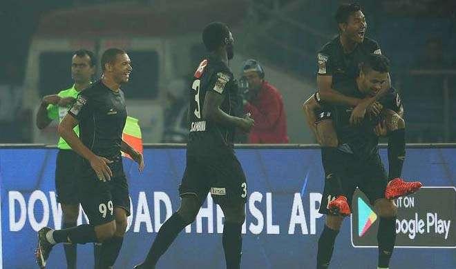 Indian Super League NorthEast United beat Delhi Dynamos 2-0...- India TV