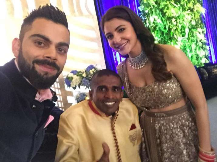 kohli, gayan-senanayake, Anushka- India TV