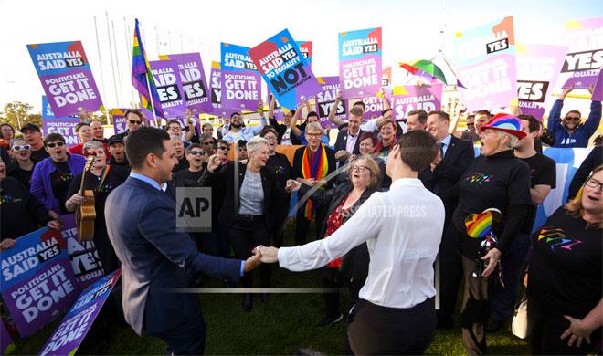 Australia Gay Marriage | AP Photo- Khabar IndiaTV