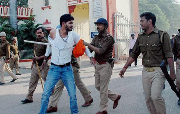 BHU, Violence- India TV