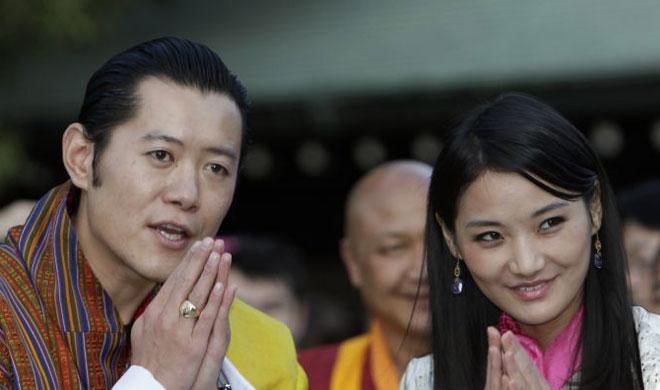 Bhutan King and Queen | AP Photo- Khabar IndiaTV