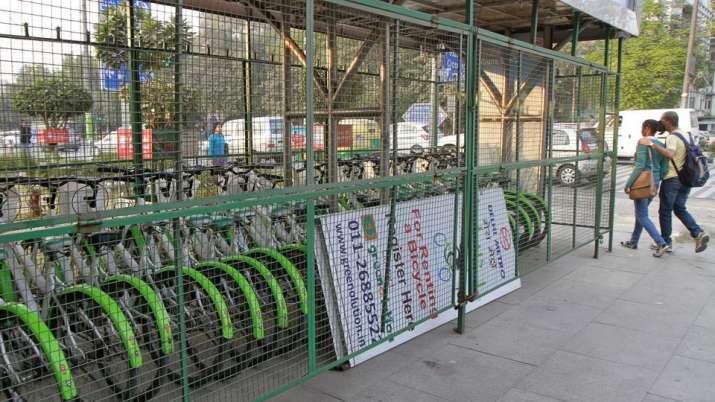Metro Cycle Stand- IndiaTV Paisa