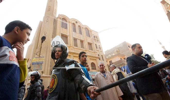 Egypt Church   AP Photo- India TV