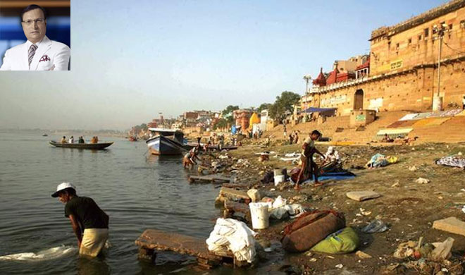 Rajat Sharma blog on Ganga river- India TV