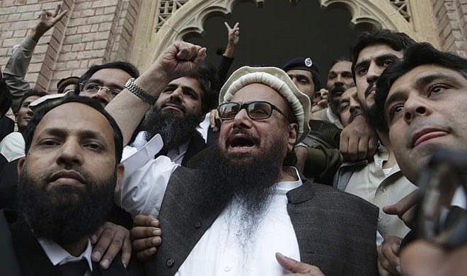 Hafiz Saeed with Supporters | AP Photo- India TV