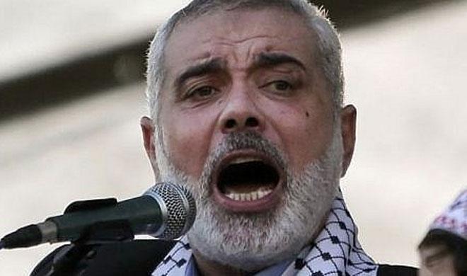 Ismail Haniyeh   AP Photo- Khabar IndiaTV