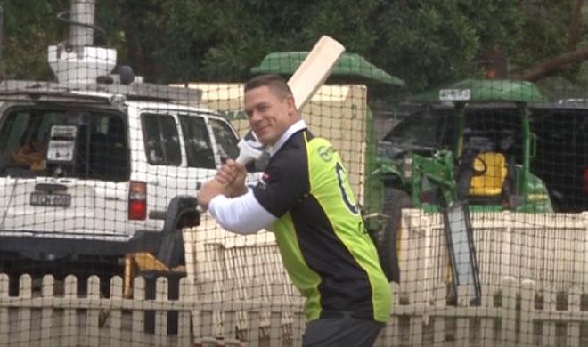 John Cena Cricket- India TV