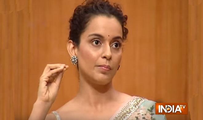 KANGANA RANAUT AAP KI ADALAT- Khabar IndiaTV