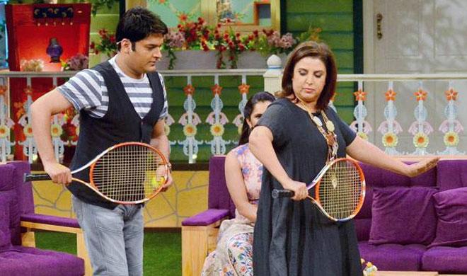 Kapil Sharma and Farah Khan- Khabar IndiaTV