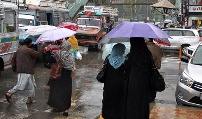 Kashmir-Rain- Khabar IndiaTV