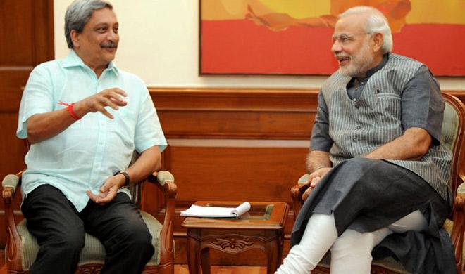 PM Modi Parrikar- Khabar IndiaTV