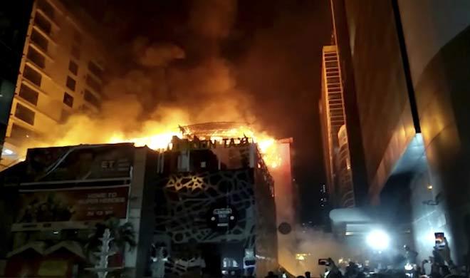 Mumbai Fire- India TV
