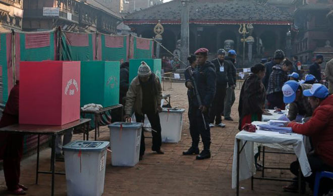Voting for final phase in Nepal- Khabar IndiaTV