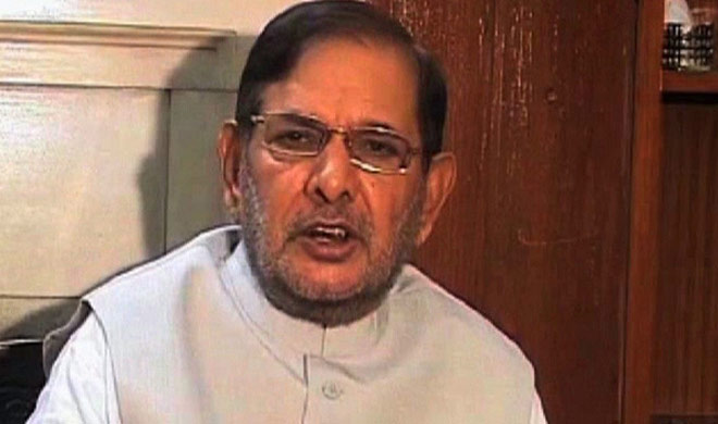 sarad Yadav said I will continue my fight to save democracy- Khabar IndiaTV
