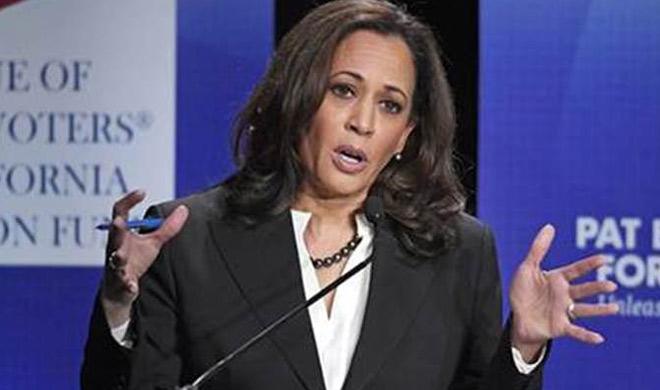 Indian-American senator Kamala Harris tops global thinkers...- India TV