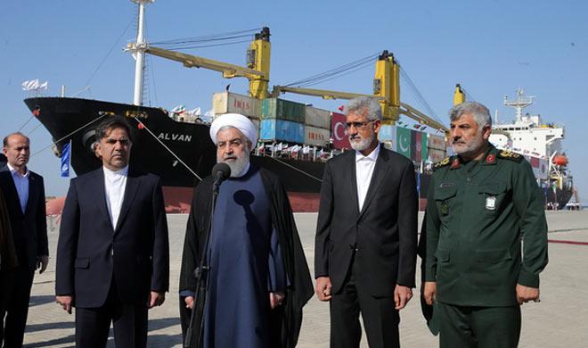 Iran opens the new port- Khabar IndiaTV