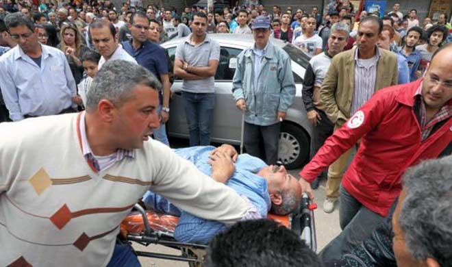 bomb blast in egypt six people killed including Colonel- India TV