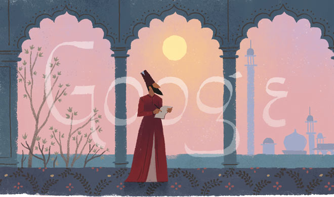 Google made doodle on the birth anniversary of the popular...- India TV