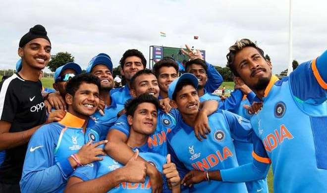 अंडर-19 क्रिकेट टीम- India TV