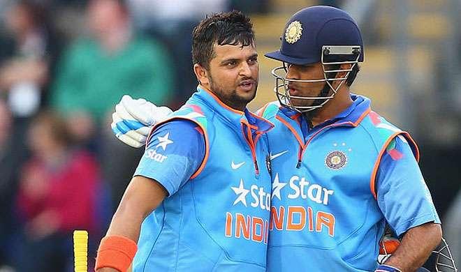 एम एस धोनी और सुरेश...- India TV