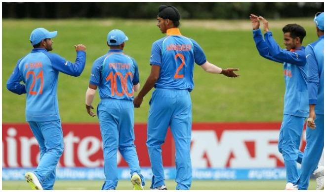 अंडर-19 टीम- India TV