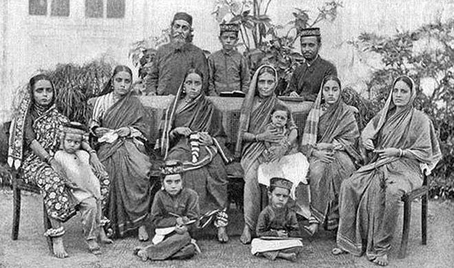 An old pic of Beni-Israel Family at Mumbai (then Bombay) | Representative Image- India TV